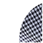 White/Houndstooth